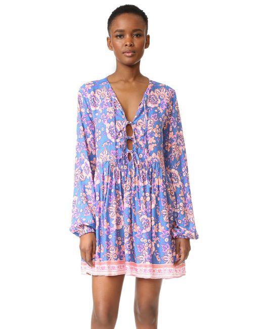 Tiare Hawaii - Blue Dahlia Swing Dress - Lyst