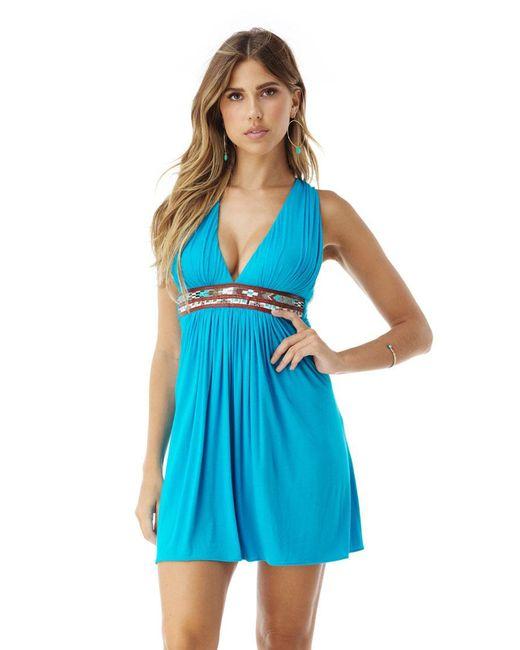 Sky - Blue Enita Mini Dress - Lyst