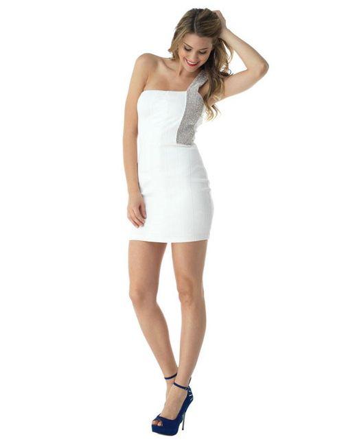 Sky | White Sherrie Mini Dress | Lyst