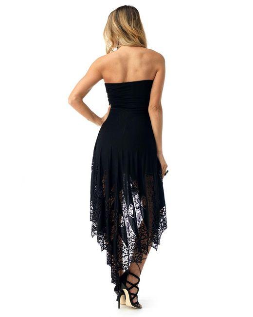 71b57237a9 ... Sky - Black Mckinley High Low Dress - Lyst ...