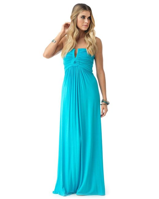 Sky - Blue Oren Maxi Dress - Lyst