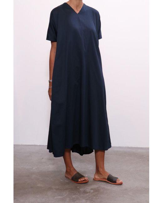 9eb11fcaee6 ... Black Crane - Blue Petal Dress In Dark Navy - Lyst ...