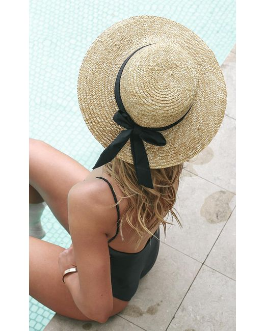 Showpo - Multicolor Sail Away Hat In Natural - Lyst
