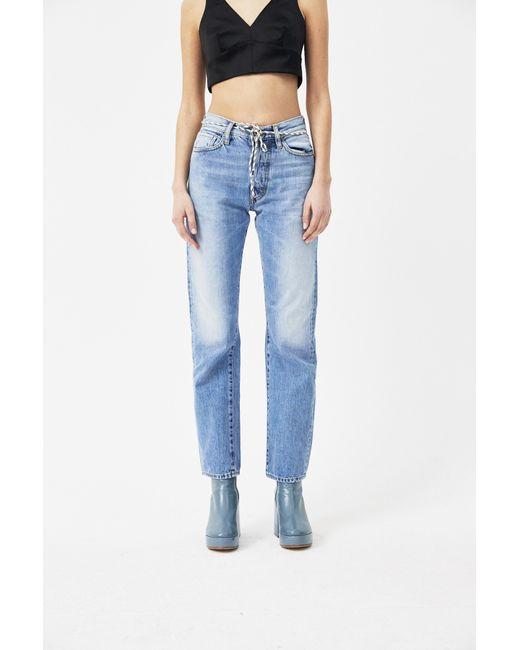 Lilly Selvedge Denim Jeans Aries wYMpj9TzN