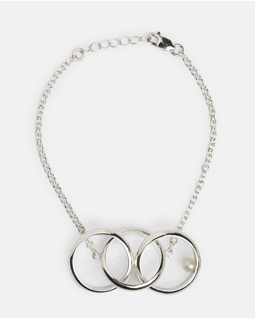 Husam El Odeh   Metallic Multi Ring Bracelet   Lyst