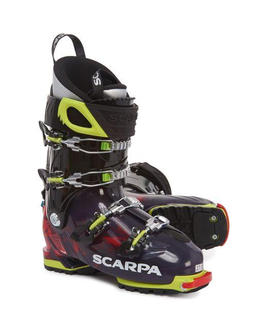 SCARPA Multicolor Made In Italy Freedom Sl 120 Alpine Ski Boots for men