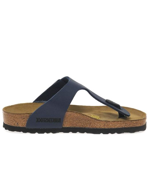 Birkenstock - Blue Gizeh Women's Sandals - Lyst