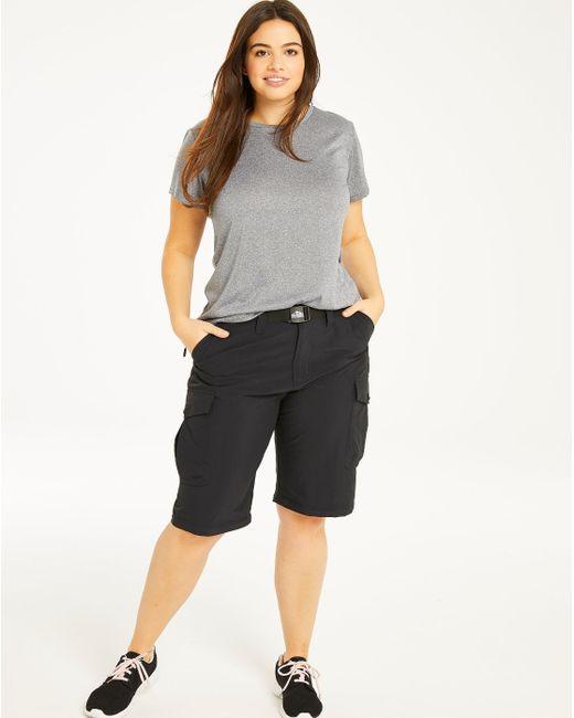Simply Be - Black Snowdonia Short/pants - Lyst