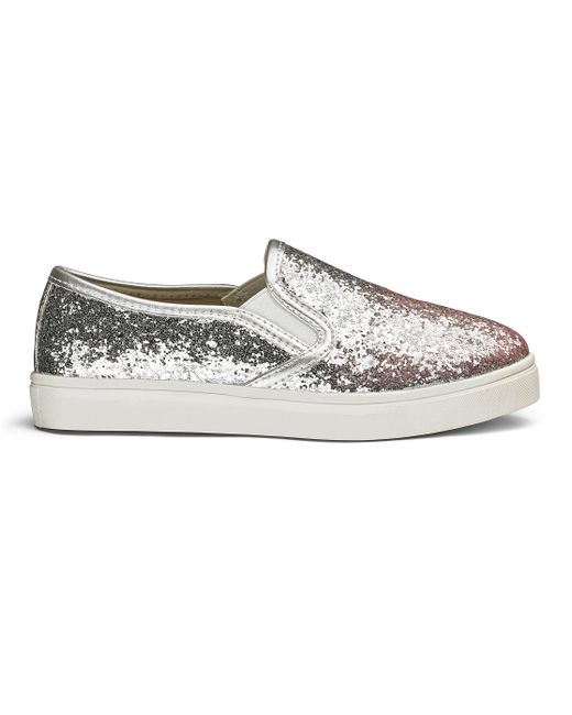 Simply Be - Multicolor Sole Diva Slip On Flats - Lyst