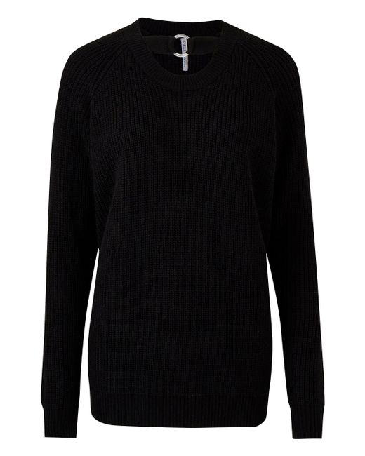 Simply Be - Black O-ring Sweater - Lyst