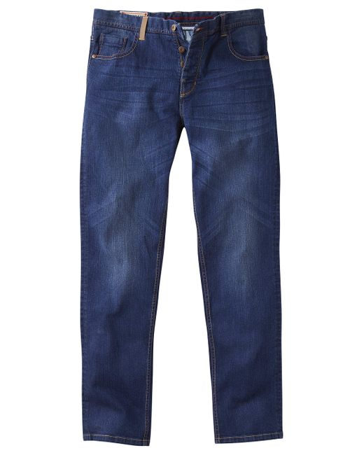Simply Be - Blue Joe Browns Easy Joe Straight Leg Dark Wash Stretch Jeans - Lyst