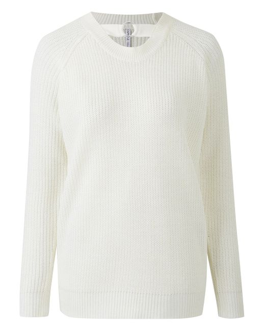Simply Be - White O-ring Jumper - Lyst