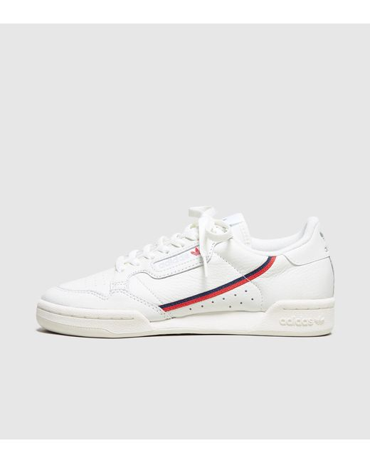 White and Off-White Continental 80 Sneakers adidas Originals VnLbuWjy7