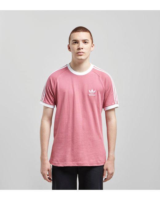 15195e66f7a Adidas Originals - Pink California Short Sleeve T-shirt for Men - Lyst ...