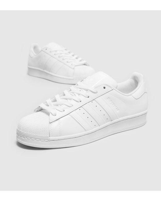 Adidas Originals | White Superstar 80's Trainers S79443 for Men | Lyst