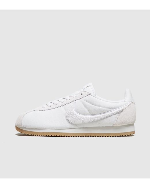 b18fbe1c464f Nike - White Cortez Se for Men - Lyst ...