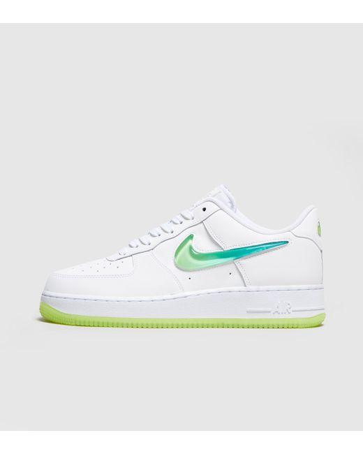 Nike - White Air Force 1 Premium  jelly  Women s - Lyst ... 3a78eaab8