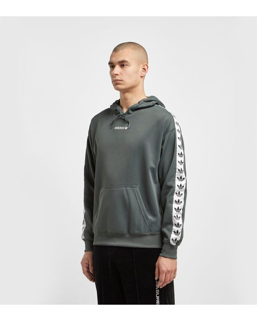 890ae86aaa2f Exclusive for Men - Lyst Adidas Originals - Green Tnt Overhead Tape Hoody -  Size