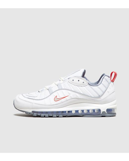 reputable site 4a162 bc62a Nike - White Air Max 98 Se for Men - Lyst ...