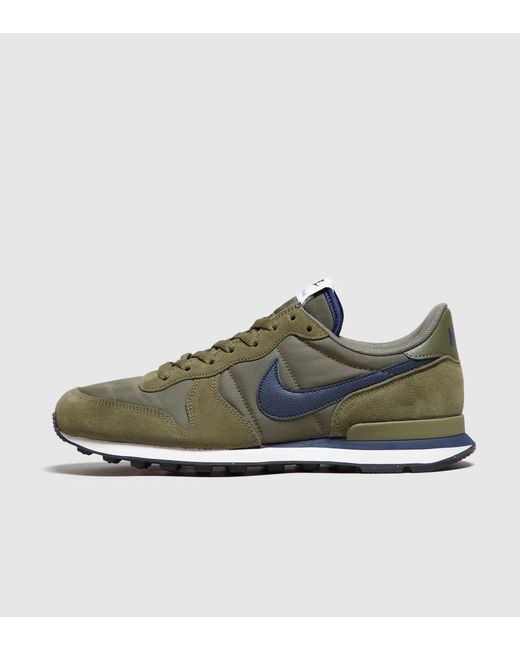 ... Nike | Green Internationalist for Men | Lyst ...