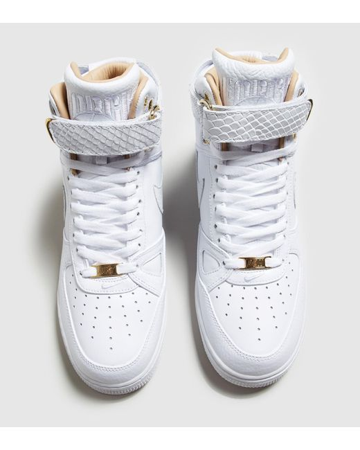 ... Nike | White Air Force 1 Hi Just Don | Lyst ...