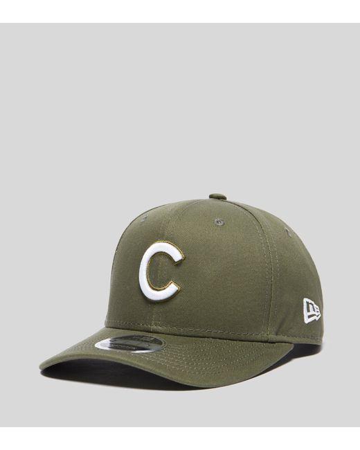 68ba972eaaf KTZ - Green 9fifty Chicago Cubs Cap for Men - Lyst ...