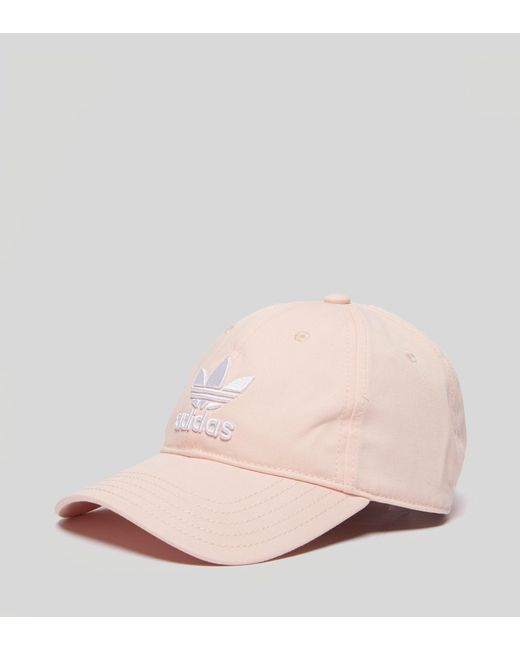 Adidas Originals - Pink Trefoil Classic Cap for Men - Lyst ... 7ffa2ff3a72d