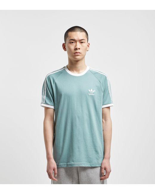 ebac5ff78c8 Adidas Originals - Green California Short Sleeve T-shirt for Men - Lyst ...
