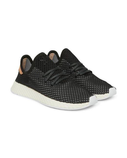 sports shoes 11904 657c2 ... Adidas Originals - Black Deerupt Runner Sneakers - Lyst ...