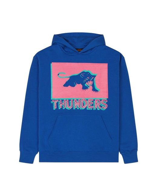 THUNDERS - Pop Patha Hooded Swatshirt Blue for Men - Lyst