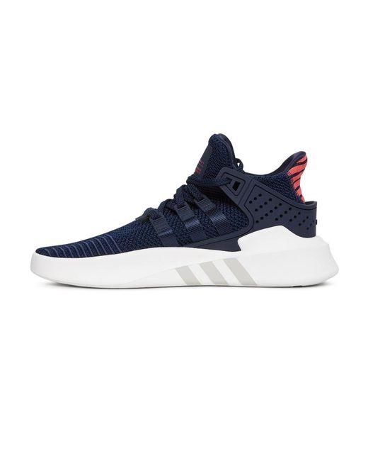 ... Adidas Originals - Blue Eqt Basketball Adv Sneakers for Men - Lyst ... 28251d63b