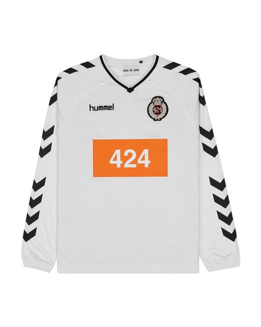 Hummel - 424 X Long Sleeve Jersey Top White for Men - Lyst