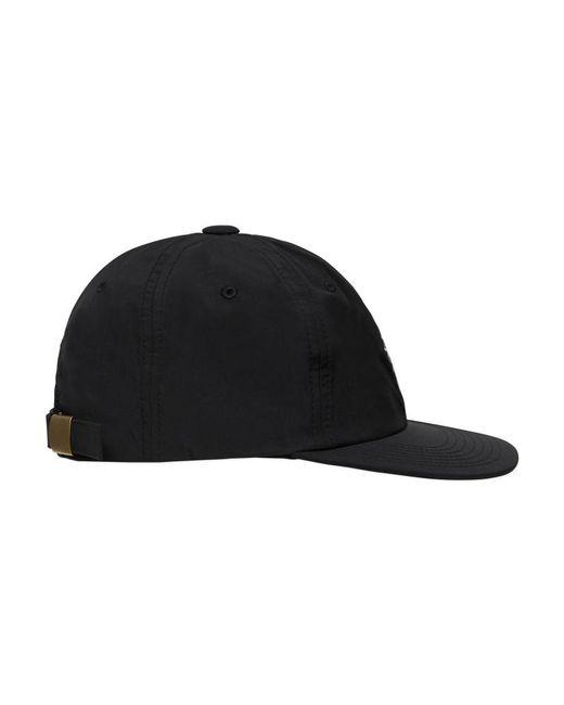 c06a3258512 ... Stussy - Black Stock Lock Taslan Cap for Men - Lyst ...