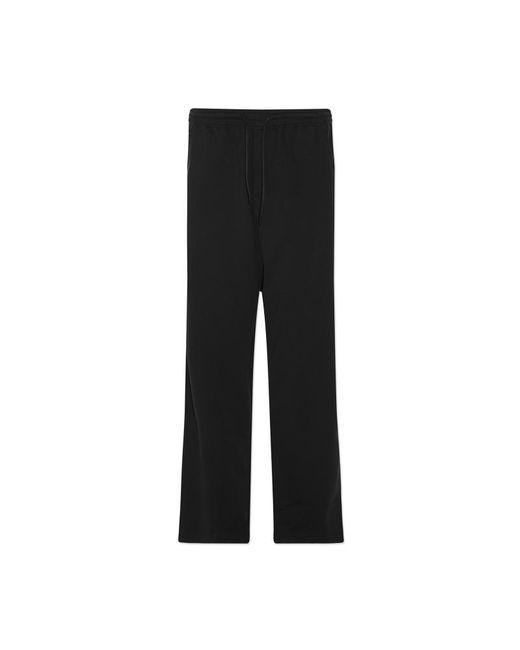 Y-3 - Black 3-stripes Wide Pants - Lyst