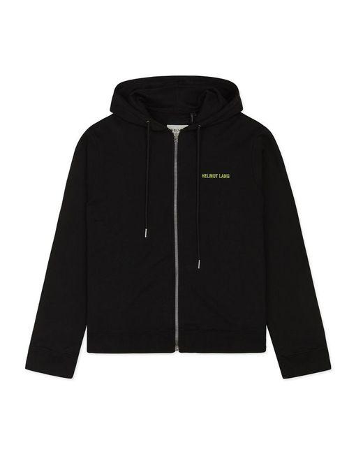 Helmut Lang - Black Basic Hooded Sweatshirt for Men - Lyst