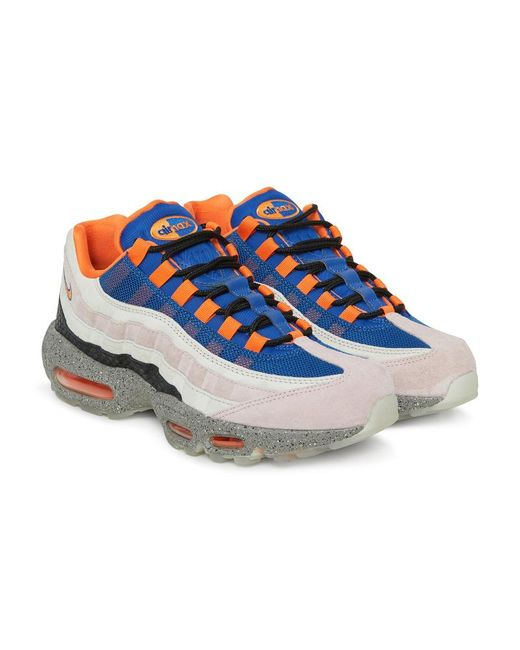 f19d217e89 ... Nike - Blue Air Max 95 Premium Sneakers - Lyst ...