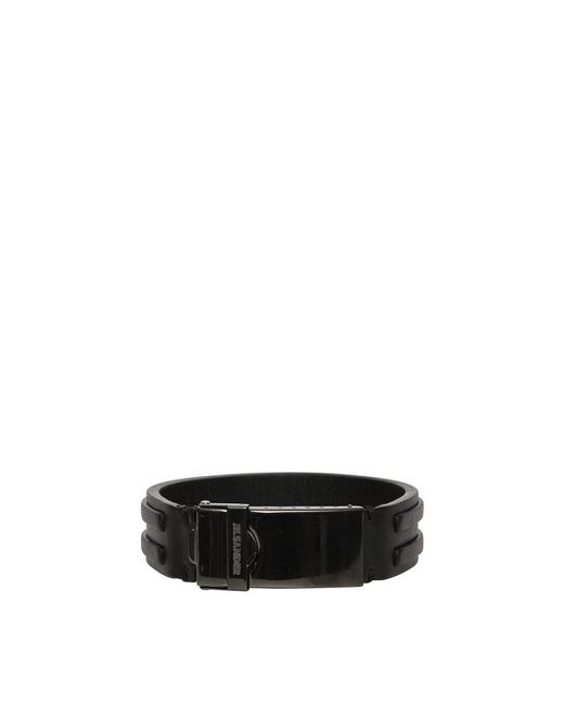 Jil Sander - Black Essential 2 Bracelet for Men - Lyst