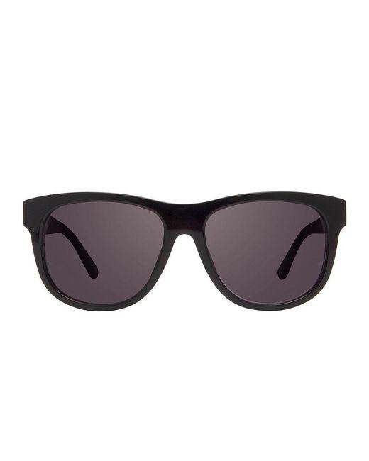 POLAROID women/'s Shiny Black Sunglasses Polarized Grey Gradient P8419 KIH