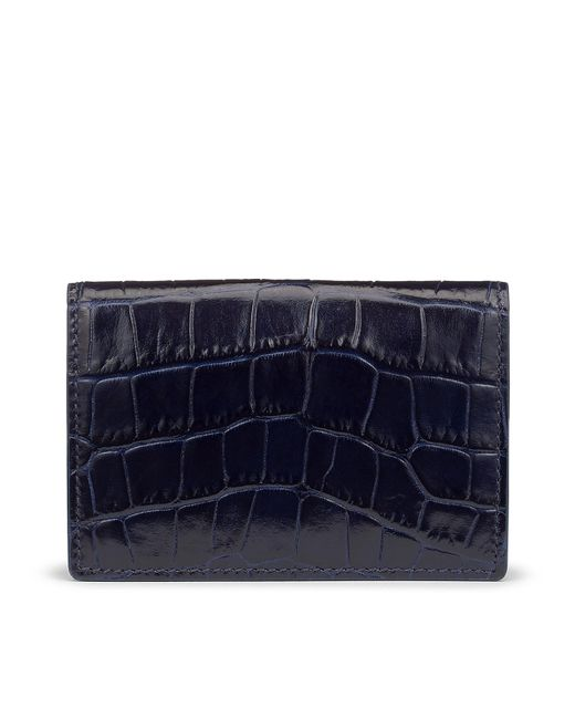 Smythson - Blue Mara Business And Credit Card Case - Lyst