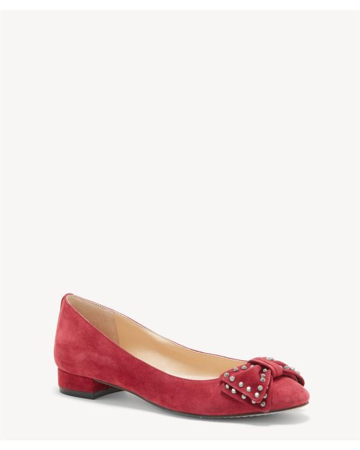 Vince Camuto - Red Annaley Block Heel Flat - Lyst