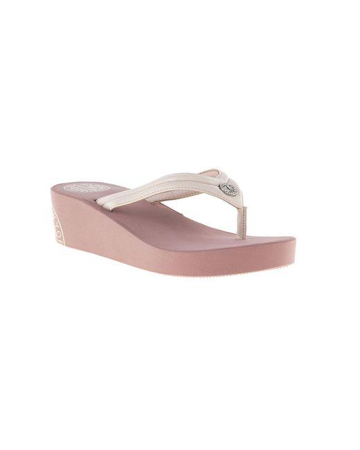 d0dd3e03c4fe3 ... DKNY - Pink Jones Sandals - Lyst