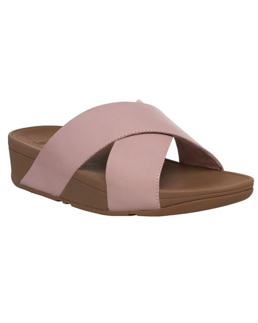 d664fc3b1024 Fitflop - Multicolor Lulutm Cross Slide Sandals - Lyst ...