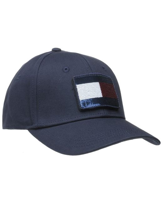 ... Tommy Hilfiger - Blue Swap Your Patch Cap for Men - Lyst ... fdb8bae95497