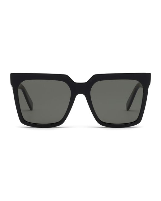 f71c53312acb Lyst - Céline Cl40055i Polarized Rectangle Women s Sunglasses in Black