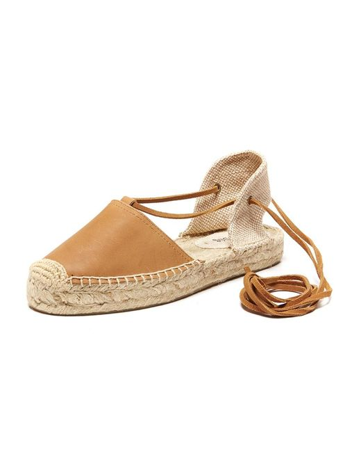 Soludos | Natural Leather Platform Gladiator Sandal | Lyst