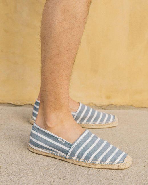Soludos - Blue Original Classic Stripe for Men - Lyst