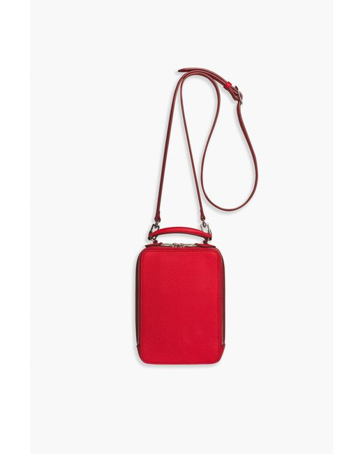 Women's Le Pave Coquelicot Red Handbag by Sonia Rykiel
