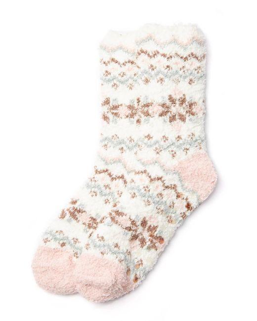 Lush - Pink Feminine Fair Isle P Socks - Lyst