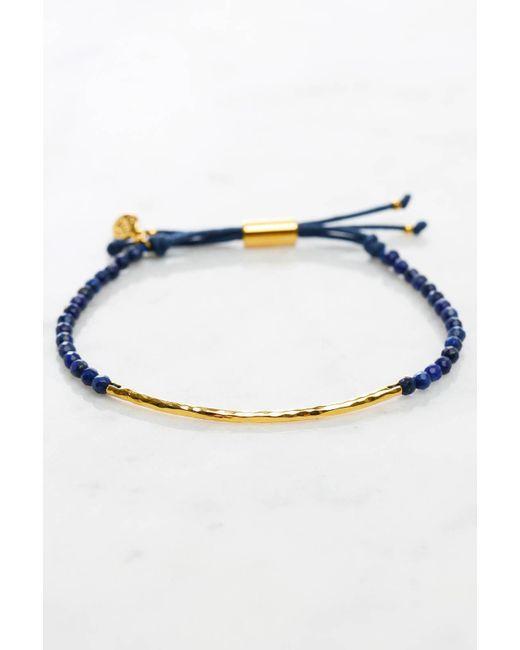 Gorjana | Blue Wisdom Power Gem Stone Bracelet | Lyst