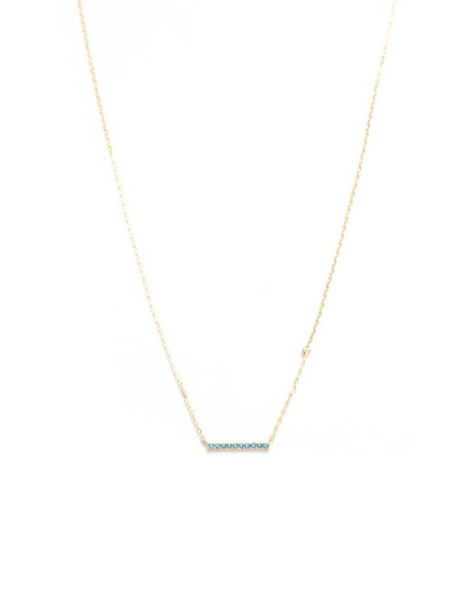 Tai | Multicolor Turquoise Stick Necklace | Lyst